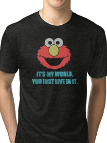 Elmo's World Tri-blend T-Shirt
