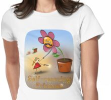Self-rescuing princess Womens Fitted T-Shirt