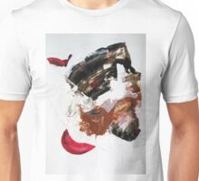 Velvet paws hide sharp claws, Original mixed media Abstract painting isn't published Unisex T-Shirt