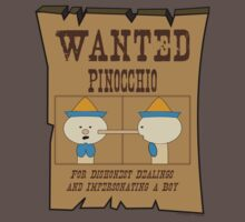 Wanted: Pinocchio by pokingstick