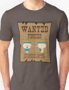 Wanted: Pinocchio T-Shirt