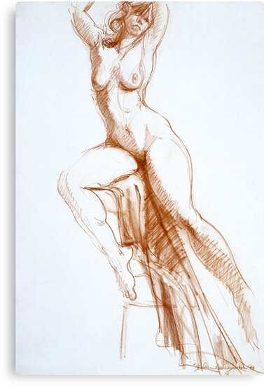 Stretching Figure by Stephen Gorton
