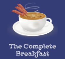 Bacon and Coffee: the Complete Breakfast (dark) by pokingstick
