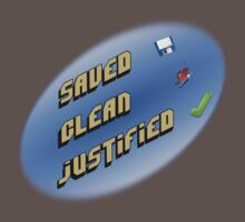 Saved, clean, justified. by pokingstick