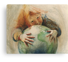 Peace 1984 Canvas Print