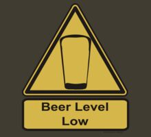 Beer Level Low by pokingstick
