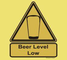 Beer Level Low Kids Tee