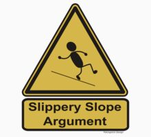 Slippery Slope Argument Baby Tee