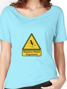 Slippery Slope Argument Women's Relaxed Fit T-Shirt