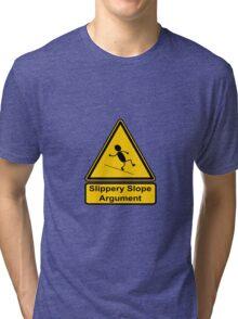 Slippery Slope Argument Tri-blend T-Shirt