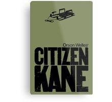 Orson Well's Citizen Kane  Metal Print