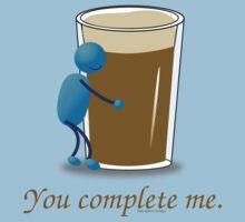 You complete me -- beer Baby Tee