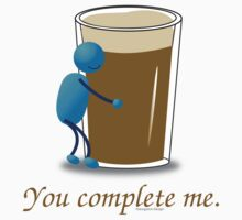 You complete me -- beer Baby Tee