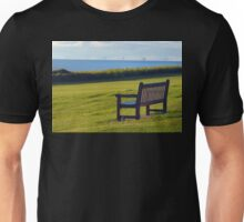 Overlooking the Wash from Hunstanton. Unisex T-Shirt
