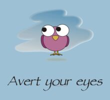 Avert your eyes! Baby Tee
