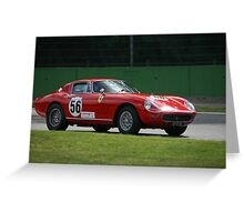 Ferarri F275 Greeting Card
