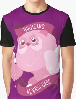 Kawaii Owlbear Graphic T-Shirt