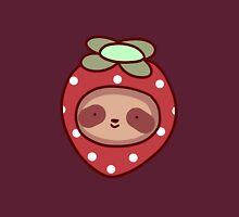 Strawberry Sloth Face Unisex T-Shirt