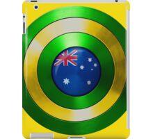 CAPTAIN AUSTRALIA - Captain America shield inspired Oz version iPad Case/Skin