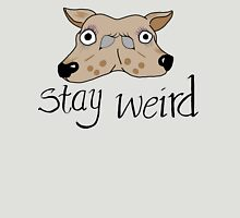 Stay Weird Scary Deer Unisex T-Shirt