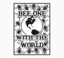 Bee One With the World Kids Tee