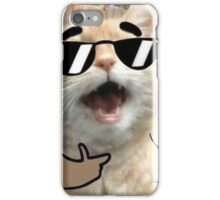 Cool Cat on it iPhone Case/Skin