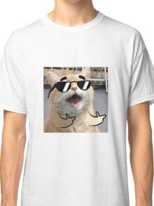 Cool Cat on it Classic T-Shirt