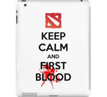 Keep Calm and First Blood iPad Case/Skin