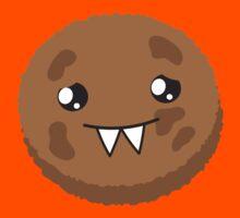 cute kawaii cookie monster face Kids Clothes