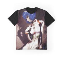 Neon Genesis Evangelion - Ayanami Rei ost cover Graphic T-Shirt