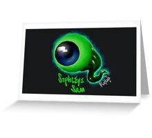 SepticEyeSam | JackSepticEye Greeting Card
