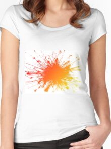 Sbam Color Women's Fitted Scoop T-Shirt