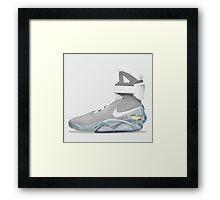 airmag polygonal art Framed Print