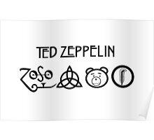 TED Zeppelin Rocks! Poster