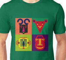 Happy Town Faces 3 Unisex T-Shirt