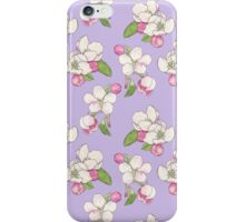 Apple Blossom Pattern iPhone Case/Skin