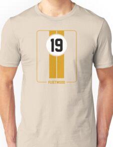 Cunningham Stripes - Yellow Unisex T-Shirt