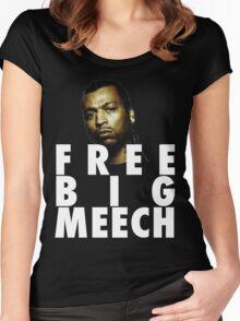 Free Big Meech BMF Legendary Figure Women's Fitted Scoop T-Shirt