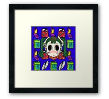 Chibi Fashion Girl #16 Framed Print