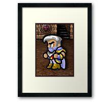 Edge - Ninja Prince Framed Print