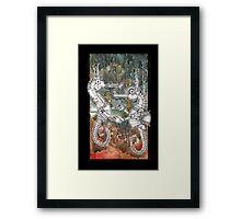 Seahorse Tango Framed Print