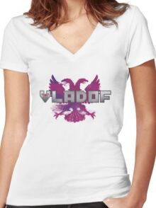 Vladof Freedom (Without Text) Women's Fitted V-Neck T-Shirt
