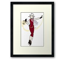 Alin, The Flame Within the Flame Framed Print