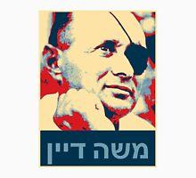Moshe Dayan (Hebrew) משה דיין  Men's Baseball ¾ T-Shirt