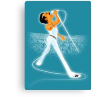 Freddie Mercury : ROCK GOD Canvas Print