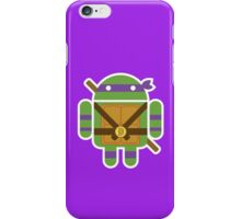 Donnie Droid  iPhone Case/Skin