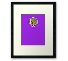 Donnie Droid  Framed Print