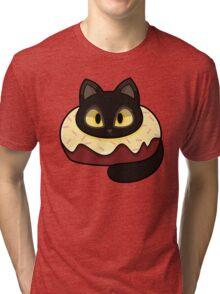 Chantilly Tiffany Donut Cat Tri-blend T-Shirt