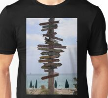 Which Way To Go? Unisex T-Shirt