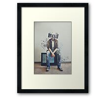HUMAN The CAMERA Framed Print